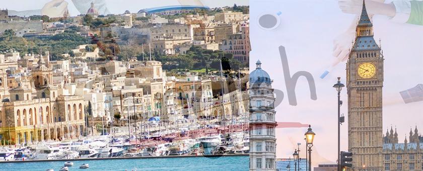 Английский на Мальте и в Лондоне